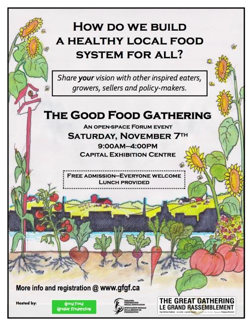 Good Food Gathering poster - final